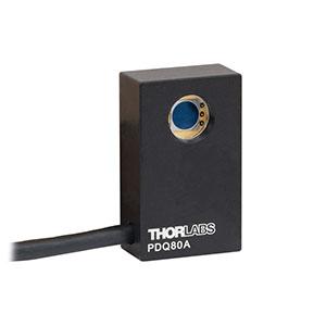 Thorlabs社製位置センサーディテクタ(モデル:PDQ80A)