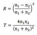 反射率と透過率