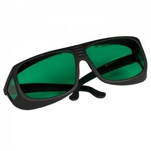 Thorlabs社製レーザー保護メガネ、ターコイズレンズ