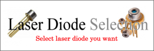 Laser Diode Selection
