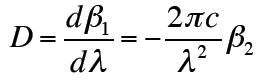 Dとβ2の関係