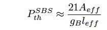 SBS閾値